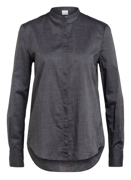 BOSS Bluse EFELIZE, Farbe: SCHWARZ/ GRAU (Bild 1)