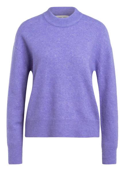 SAMSØE & SAMSØE Pullover ANOUR mit Alpaka, Farbe: HELLLILA MELIERT (Bild 1)
