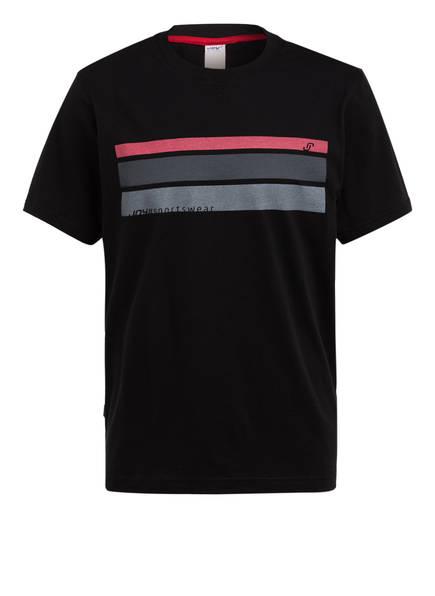 JOY sportswear T-Shirt VINZENT, Farbe: SCHWARZ/ GRAU (Bild 1)
