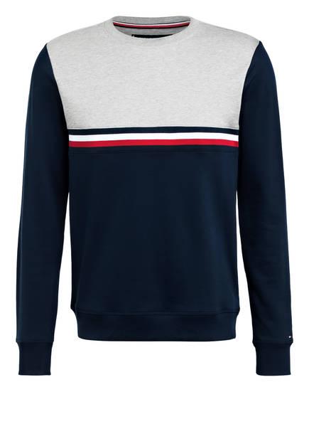 TOMMY HILFIGER Sweatshirt, Farbe: DUNKELBLAU/ GRAU (Bild 1)