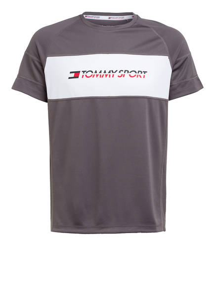 TOMMY HILFIGER T-Shirt, Farbe: TAUPE/ WEISS (Bild 1)