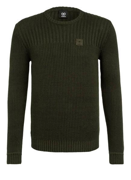 strellson Pullover FORDHAM, Farbe: DUNKELGRÜN (Bild 1)