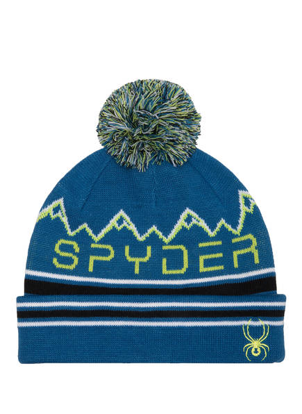 SPYDER Mütze, Farbe: BLAU/ GRÜN (Bild 1)