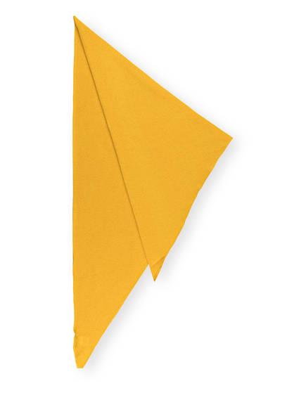 S.MARLON Dreieckstuch aus Cashmere, Farbe: GELB (Bild 1)