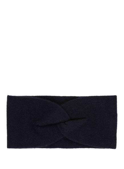 S.MARLON Cashmere-Stirnband, Farbe: DUNKELBLAU (Bild 1)