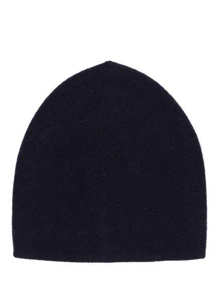 S.MARLON Cashmere-Mütze, Farbe: DUNKELBLAU (Bild 1)