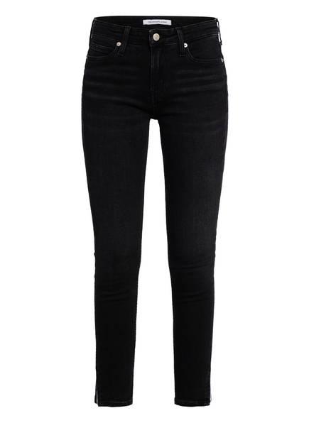 Calvin Klein Jeans 7/8-Jeans, Farbe: 1BY STOCKHOLM BLACK CK SPLIT HEM (Bild 1)