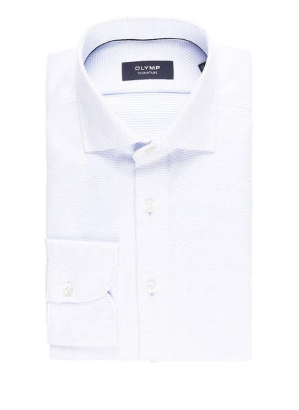 OLYMP SIGNATURE Hemd tailored fit , Farbe: WEISS/ HELLBLAU (Bild 1)