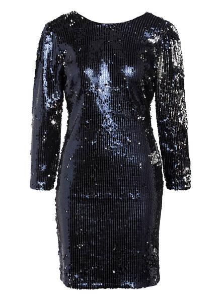 Y.A.S. Kleid mit Paillettenbesatz, Farbe: SCHWARZ/ DUNKELBLAU (Bild 1)