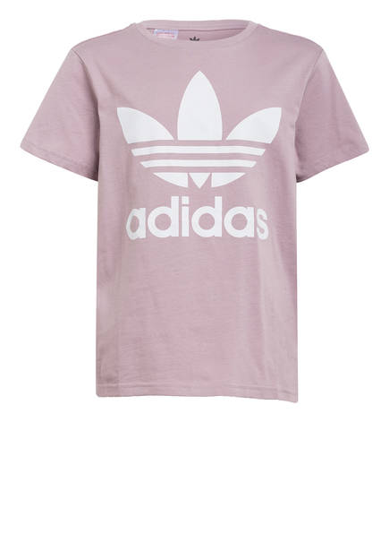 adidas Originals T-Shirt TREFOIL, Farbe: LILA (Bild 1)