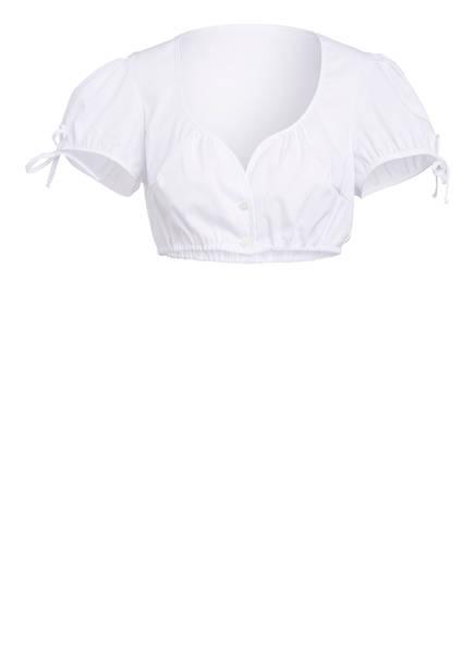 SPORTALM Dirndlbluse , Farbe: WEISS (Bild 1)