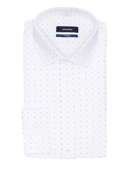 seidensticker Hemd Tailored Fit, Farbe: WEISS/ BLAU/ SCHWARZ GEPUNKTET (Bild 1)