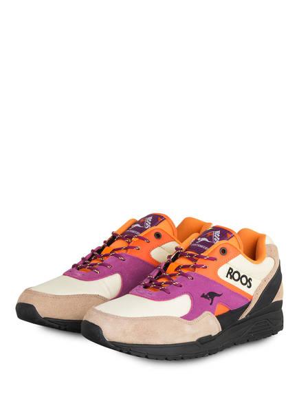 KangaROOS Sneaker RUNAWAY ROOS 002 MTN, Farbe: BEIGE/ LILA/ ORANGE (Bild 1)