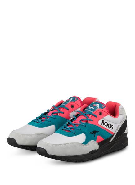 KangaROOS Sneaker RUNAWAY ROOS 002 MTN, Farbe: HELLGRAU/ TÜRKIS/ PINK (Bild 1)