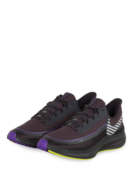 Nike Laufschuhe AIR ZOOM WINFLO 6 SHIELD , Farbe: DUNKELGRAU/ SCHWARZ (Bild 1)