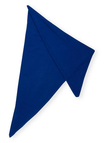 lilienfels Dreieckstuch aus Cashmere, Farbe: BLAU (Bild 1)