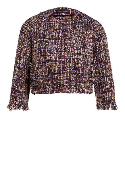 TALBOT RUNHOF Tweed-Jacke, Farbe: LILA/ BRAUN/ CREME (Bild 1)