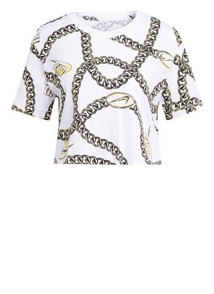 Nike T-Shirt GLAM DUNK, Farbe: WEISS/ GOLD (Bild 1)