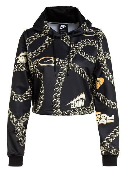 Nike Cropped-Hoodie ICON CLASH , Farbe: SCHWARZ/ GOLD (Bild 1)