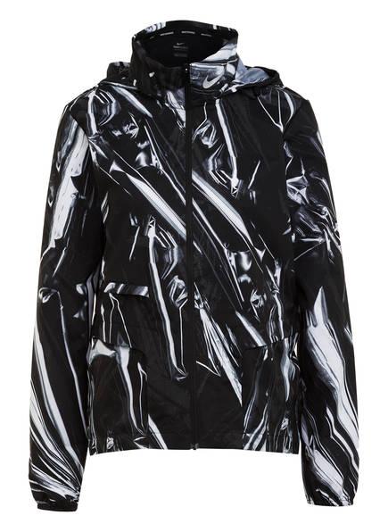 Nike Laufjacke Shield schwarz
