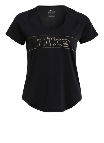 Nike T-Shirt DRI-FIT GLAM, Farbe: SCHWARZ (Bild 1)