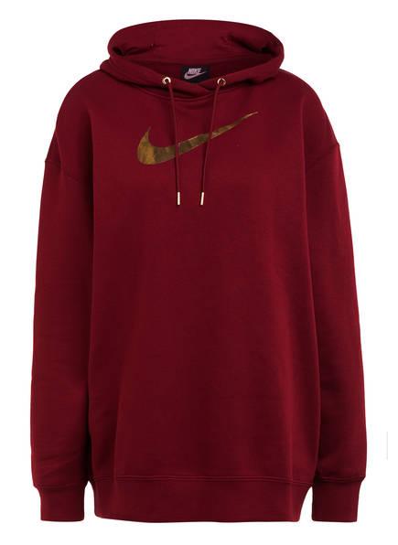 Nike Hoodie, Farbe: DUNKELROT (Bild 1)