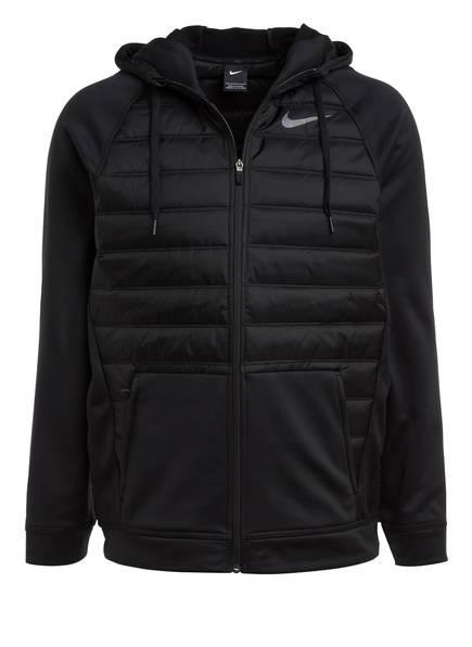 Nike Hybrid-Trainingsjacke THERMA, Farbe: SCHWARZ (Bild 1)
