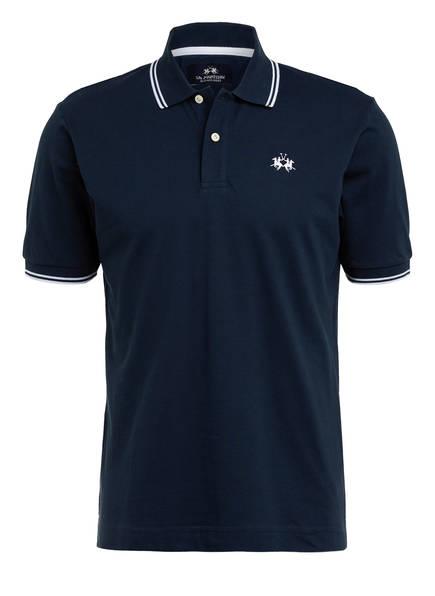 LA MARTINA Piqué-Poloshirt Regular Fit, Farbe: DUNKELBLAU (Bild 1)