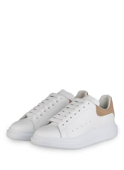 ALEXANDER McQUEEN Plateau-Sneaker, Farbe: WEISS/ BEIGE (Bild 1)