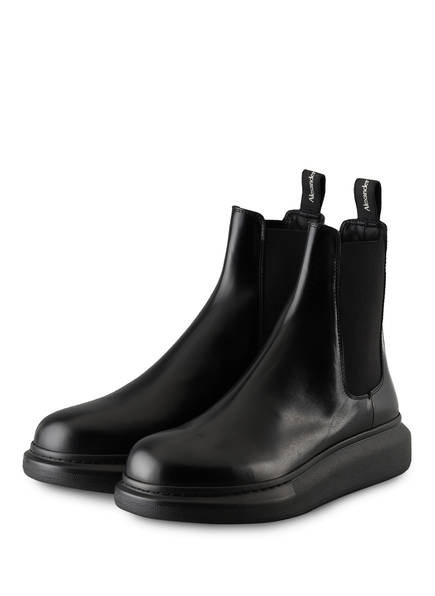 ALEXANDER McQUEEN Chelsea-Boots, Farbe: SCHWARZ (Bild 1)