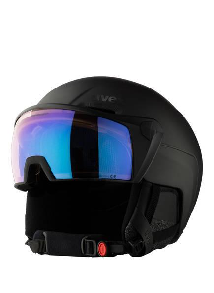 uvex Skihelm VISOR 700 V, Farbe: SCHWARZ (Bild 1)