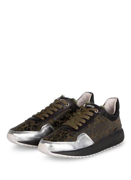 BLACKSTONE Plateau-Sneaker , Farbe: OLIV/ SCHWARZ (Bild 1)