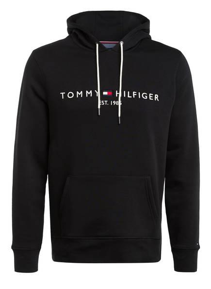 TOMMY HILFIGER Hoodie, Farbe: SCHWARZ (Bild 1)