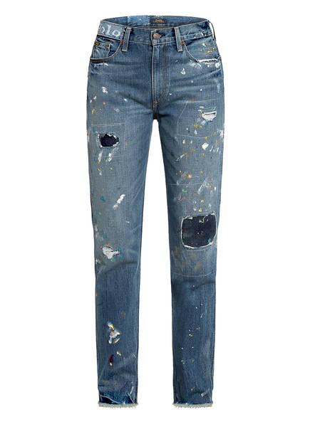 POLO RALPH LAUREN Destroyed Jeans , Farbe: 001 MEDIUM INDIGO (Bild 1)