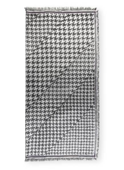 BECK SÖNDERGAARD Tuch ESTHER mit Glitzergarn , Farbe: SCHWARZ/ SILBER (Bild 1)