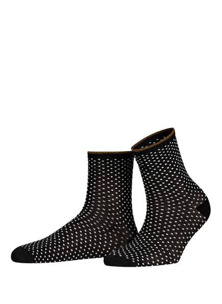 BECKSÖNDERGAARD Socken DINA mit Glitzergarn, Farbe: 010 BLACK (Bild 1)