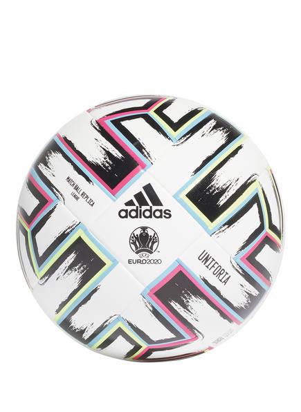 adidas Fußball UNIFORIA LEAGUE BALL, Farbe: WEISS/ ROSA/ BLAU (Bild 1)
