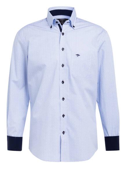 FYNCH-HATTON Hemd Casual Fit mit Minimal Print, Farbe: BLAU/ WEISS (Bild 1)