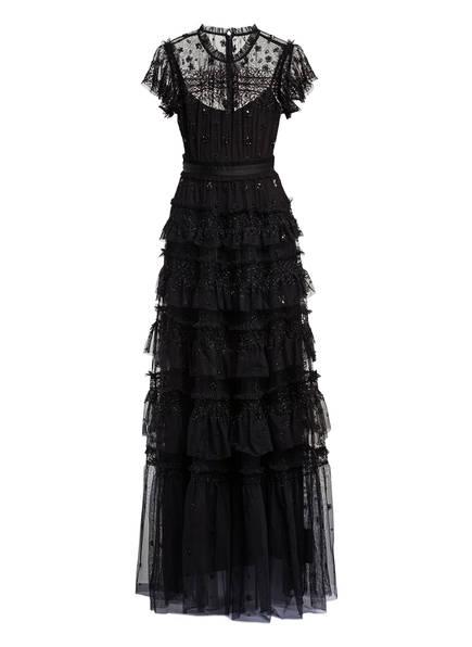 needle & thread Abendkleid ANDROMEDA mit Schmucksteinbesatz, Farbe: SCHWARZ (Bild 1)