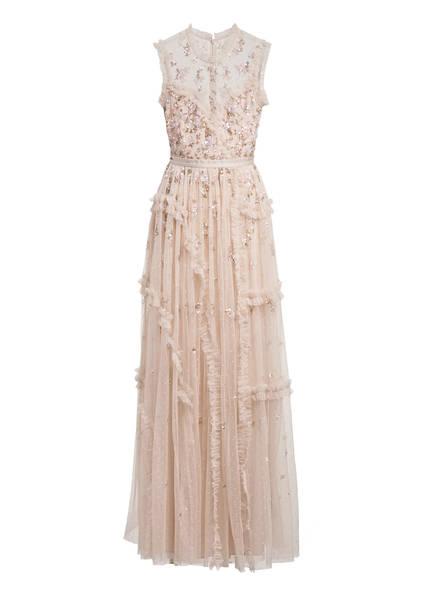 needle & thread Abendkleid SHIMMER mit Paillettenbesatz, Farbe: HELLROSE (Bild 1)