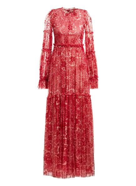 needle & thread Abendkleid ANYA mit Paillettenbesatz, Farbe: ROT (Bild 1)