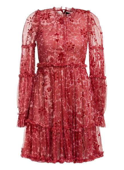 needle & thread Kleid ANYA mit Paillettenbesatz, Farbe: ROT (Bild 1)