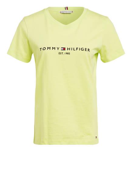 TOMMY HILFIGER T-Shirt , Farbe: NEONGRÜN (Bild 1)