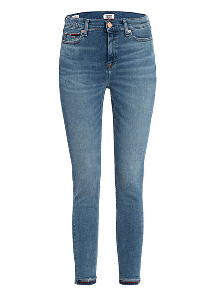 TOMMY JEANS Skinny Jeans NORA, Farbe: 1A5 DAY MID BL STR DS BLUE (Bild 1)
