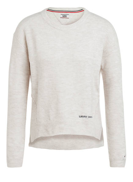 TOMMY JEANS Pullover , Farbe: ECRU MELIERT (Bild 1)