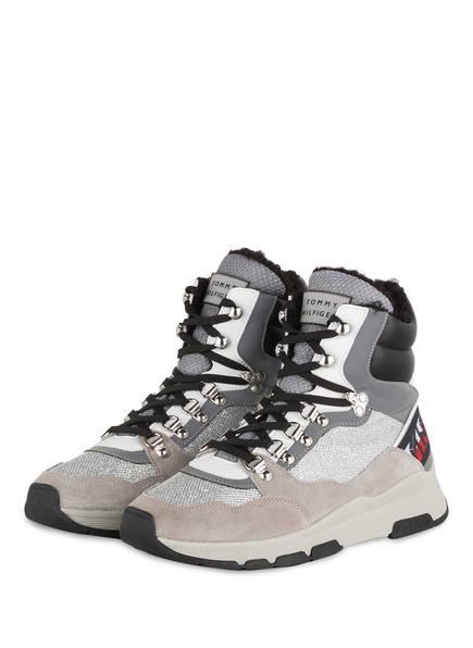 TOMMY HILFIGER Hightop-Sneaker , Farbe: SILBER (Bild 1)