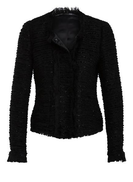 NVSCO Tweed-Jacke, Farbe: SCHWARZ (Bild 1)