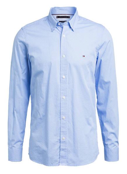 TOMMY HILFIGER Hemd Slim Fit, Farbe: WEISS/ HELLBLAU (Bild 1)