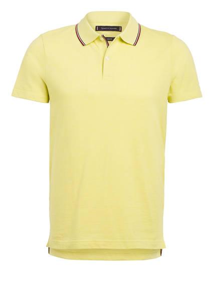 TOMMY HILFIGER Piqué-Poloshirt Slim Fit , Farbe: HELLGELB (Bild 1)