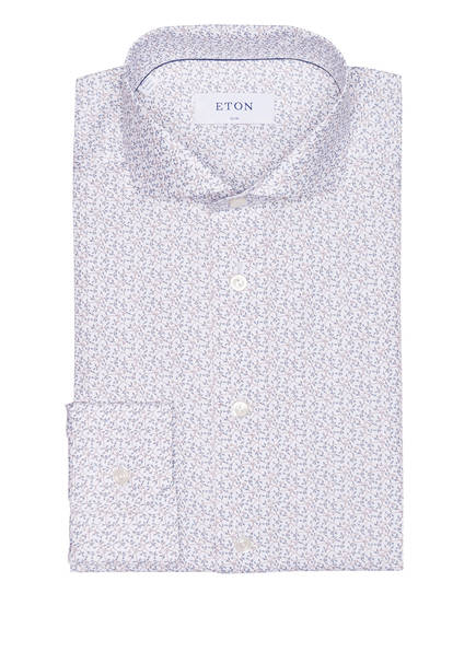 ETON Hemd Slim Fit, Farbe: WEISS/ HELLBLAU (Bild 1)